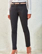 Ladies` Performance Chino Jeans