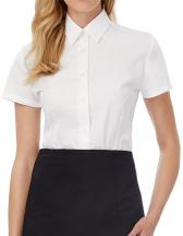 Poplin Shirt Smart Short Sleeve / Women